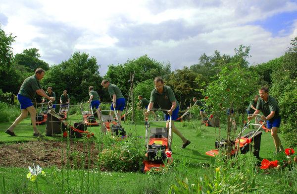 Praca w ogrodzie to przyjemność!