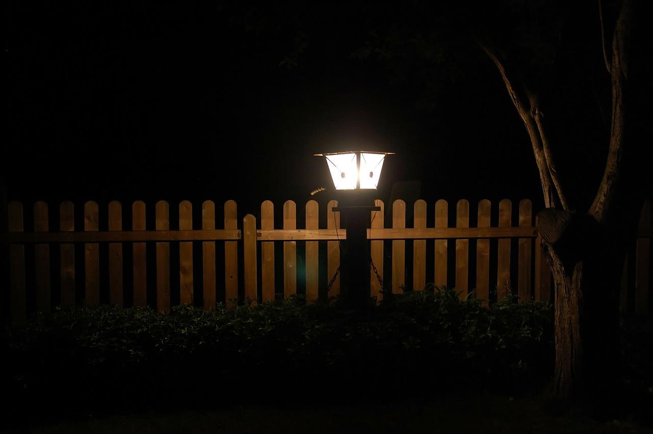 lampa ogród